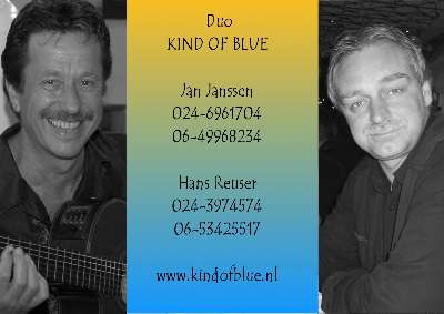 Kind of Blue Contact